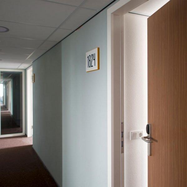 hotelkamer utliteitsdeur