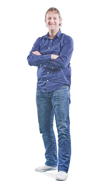 Medewerker Klaas Bouma