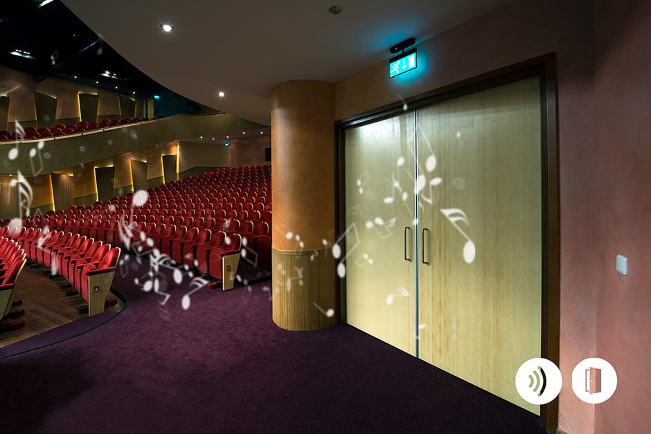 Van Vuuren - Geluidswerende deuren in theater